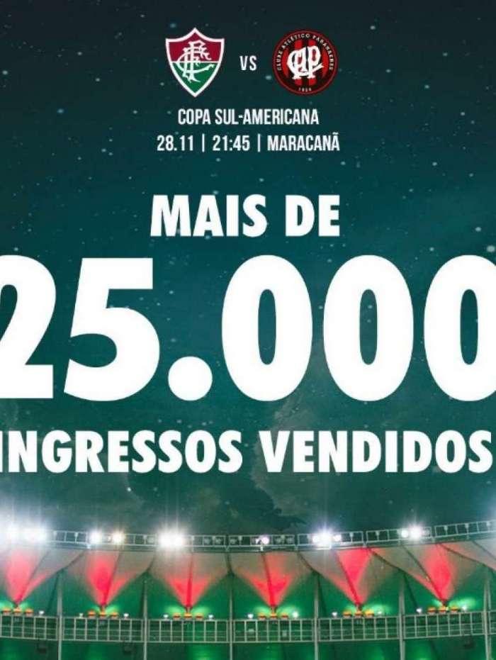 Tricolor divulgou nova parcial de ingressos para jogo contra o Atlético-PR 3841ce9d7a90b