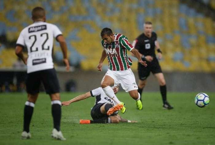 Fluminense e Ceará se enfrentaram no Maracanã