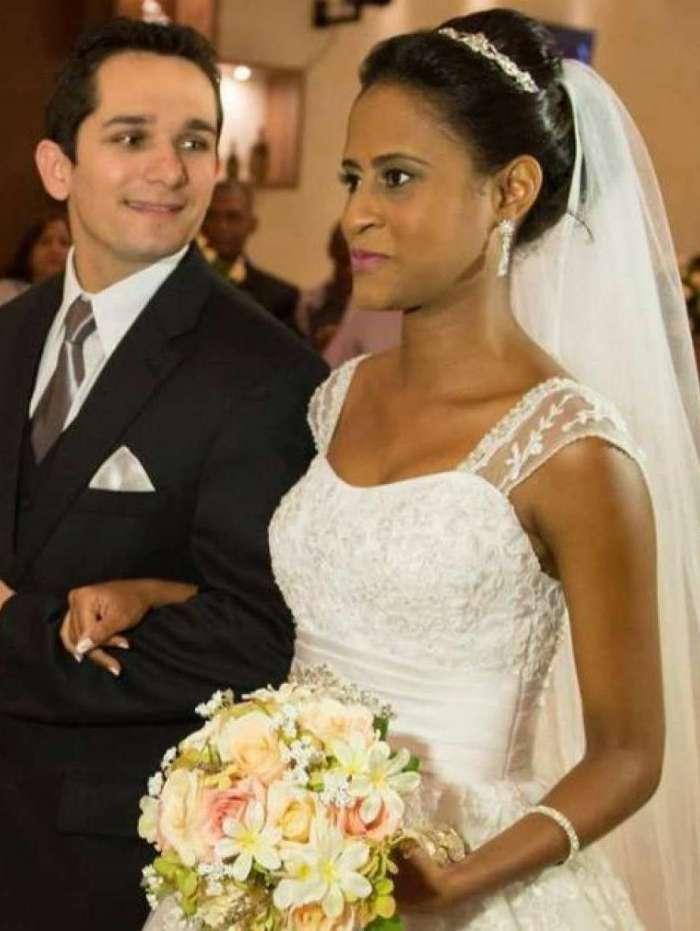 Fernanda e Vanclécio casaram em 2015 e se separam há cinco meses