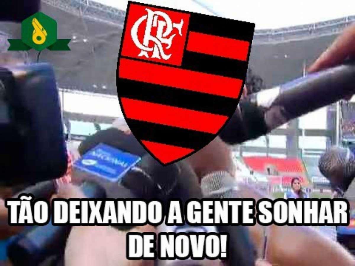 6d81b49484 Torcedores do Flamengo fazem memes para comemorar vitória Reprodução