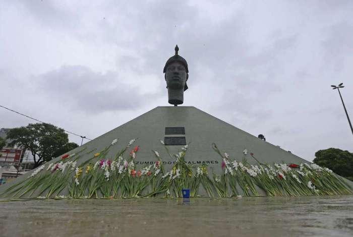 Monumento Zumbi dos Palmares, Avenida Presidente Vargas, Centro. Daniel Castelo Branco / Agência O Dia