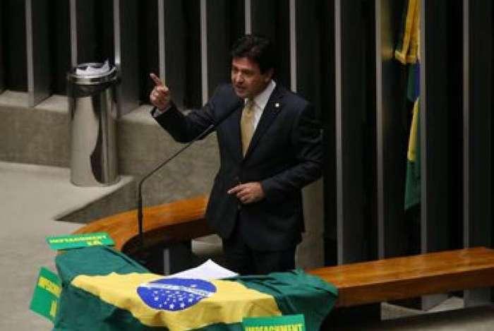 Brasília - Deputado Mandetta no plenário da Câmara