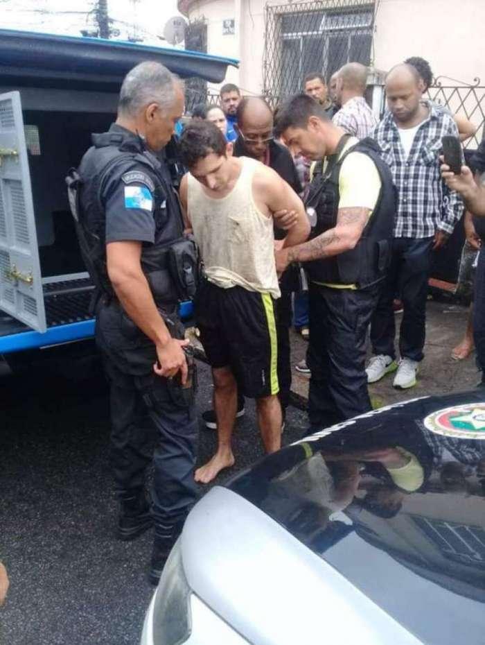 Vanclécio Cordeiro estava escondido na casa de um parente e foi preso na manhã desta terça-feira - Reprodução