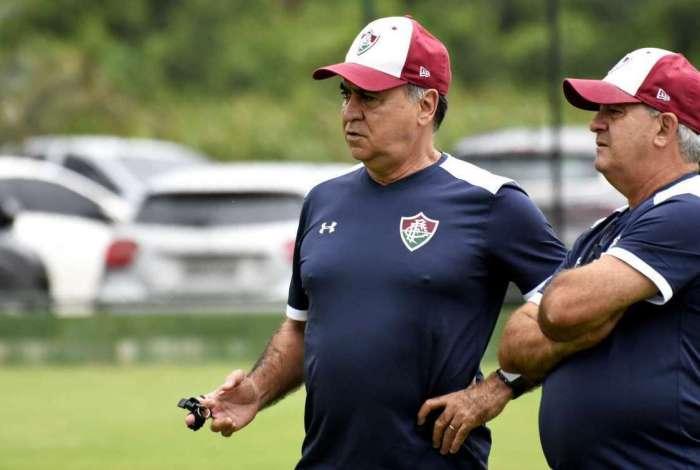 O técnico Marcelo Oliveira vive um momento de enorme pressão no Brasileiro: sete jogos sem balançar a rede