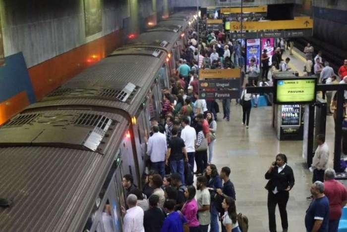 METRÔRIO - Atualmente, o MetrôRio possui 41 estações, três linhas em atividade e 14 pontos de integração. Possui mais de 3 mil funcionários e sede localizada no Centro do Rio de Janeiro. Foto: Daniel Castelo Branco / Agência O Dia