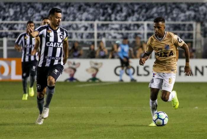 Botafogo e Santos ficaram no empate