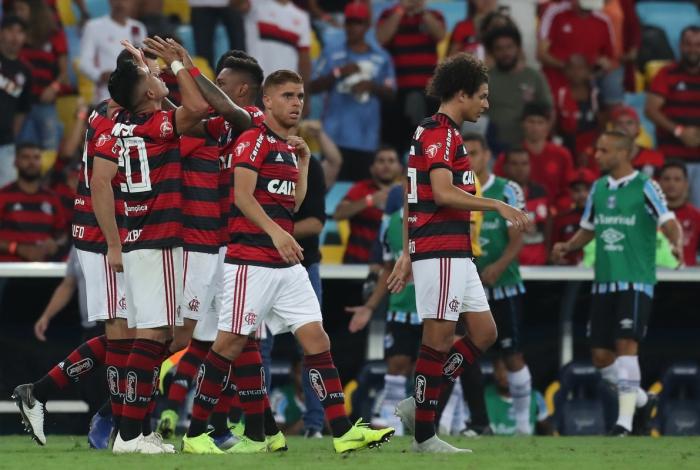 Flamengo derrotou o Grêmio no Maracanã