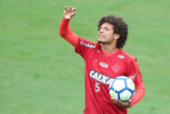 Willian Arão - Treino do Flaemngo