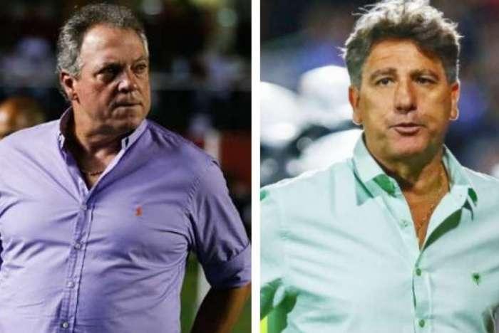Abel Braga ou Renato Gaúcho qual deles vai assumir o Flamengo?