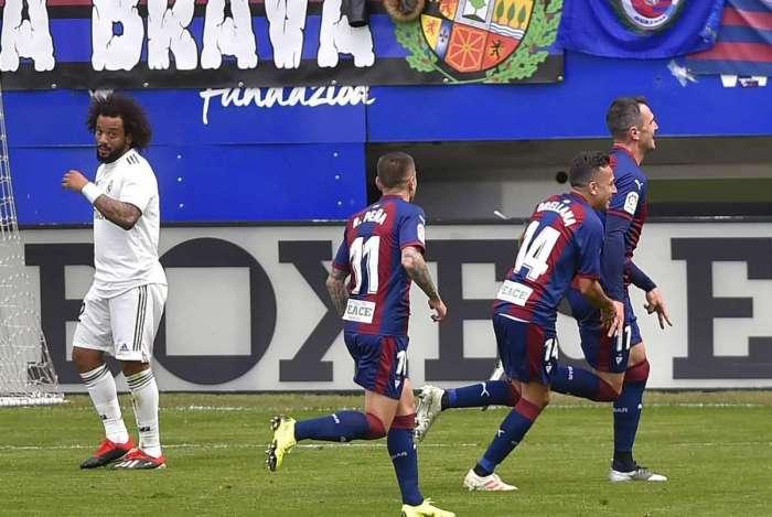 Real Madrid perdeu feio no Espanhol