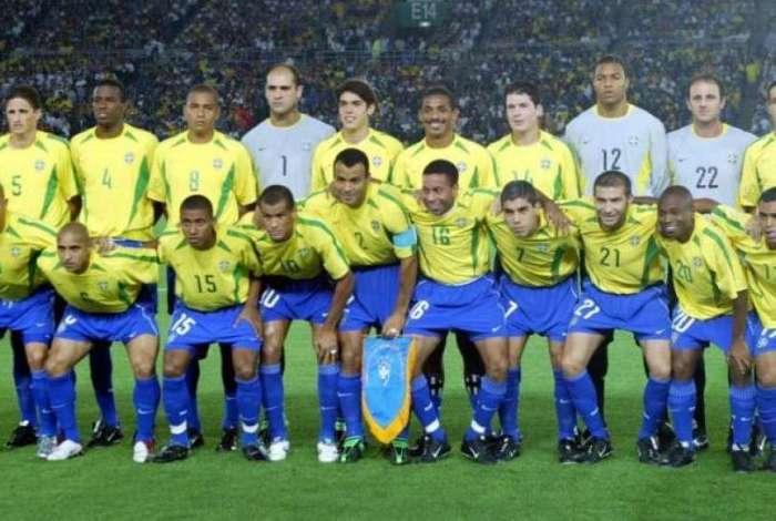 Seleção brasileira conquistou o penta em 2002