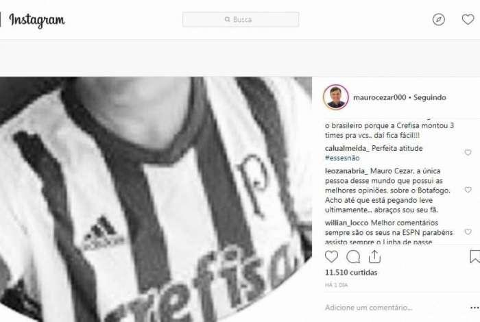 Mauro Cezar Pereira foi ameaçado nas redes sociais