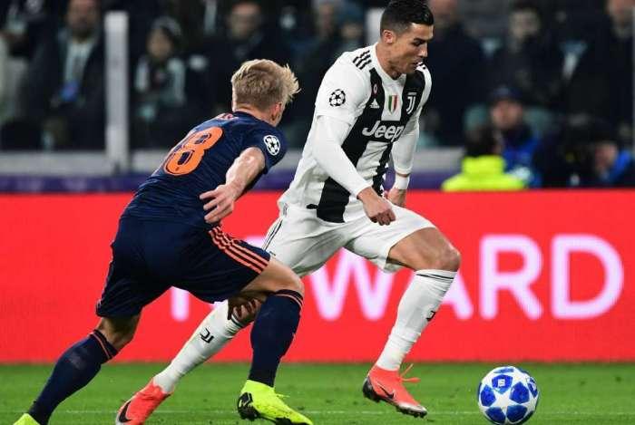 Juventus garantiu a classificação na Liga dos Campeões
