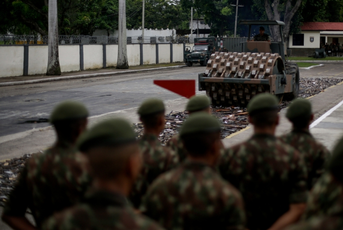 Operação Vulcão II destruiu mais de dez mil armas apreendidas em operações policiais