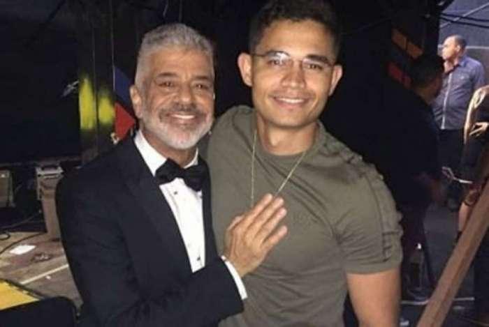 Lulu Santos e o namorado, Clebson Teixeira