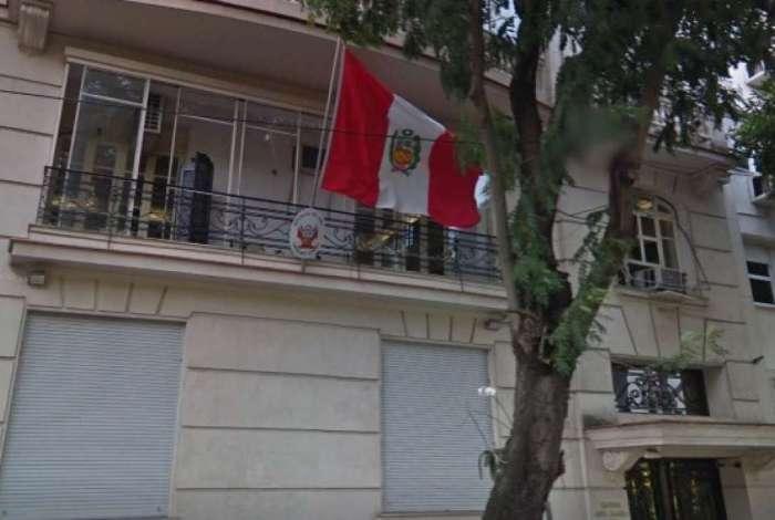 Consulado Geral do Peru, no Flamengo, Zona Sul do Rio