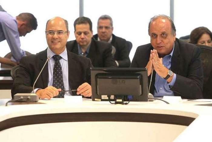 Reunião de transição Pezão e Witzel com equipes