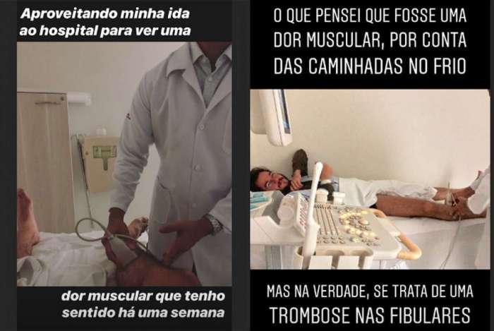 Túlio Gadelha é diagnosticado com trombose