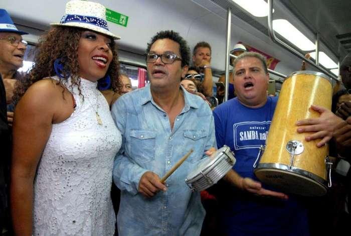 Na edição deste ano, o 'Trem do Samba' presta homenagem aos compositores do estilo musical