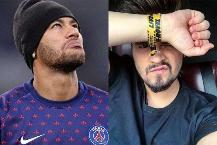 Neymar parou de seguir Luan Santana após cantor declarar que já ficou com Bruna Marquezine