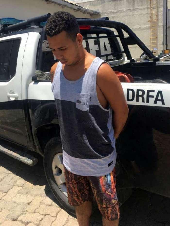 Leonardo Correia da Silva foi preso por agentes da Delegacia de Roubos e Furtos de Automóveis