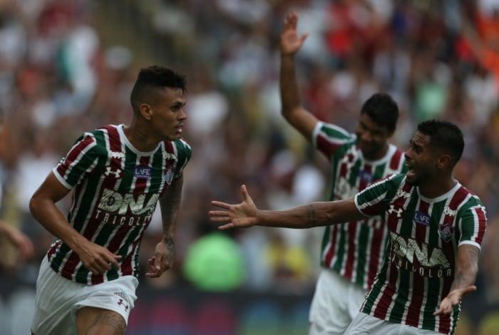 Richard marcou na vitória do Fluminense
