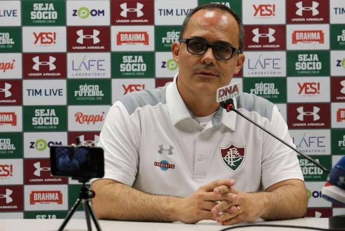 Presidente do Fluminense, Pedro Abad aceitou diminuir seu tempo no cargo para buscar a paz política