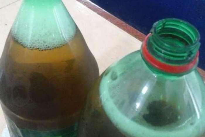 Mulheres camuflaram bebidas alcoólicas em embalagens de sucos e refrigerantes