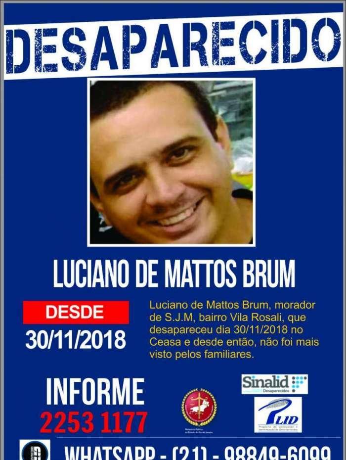 Disque Denúncia pede informações sobre homem desaparecido em Irajá