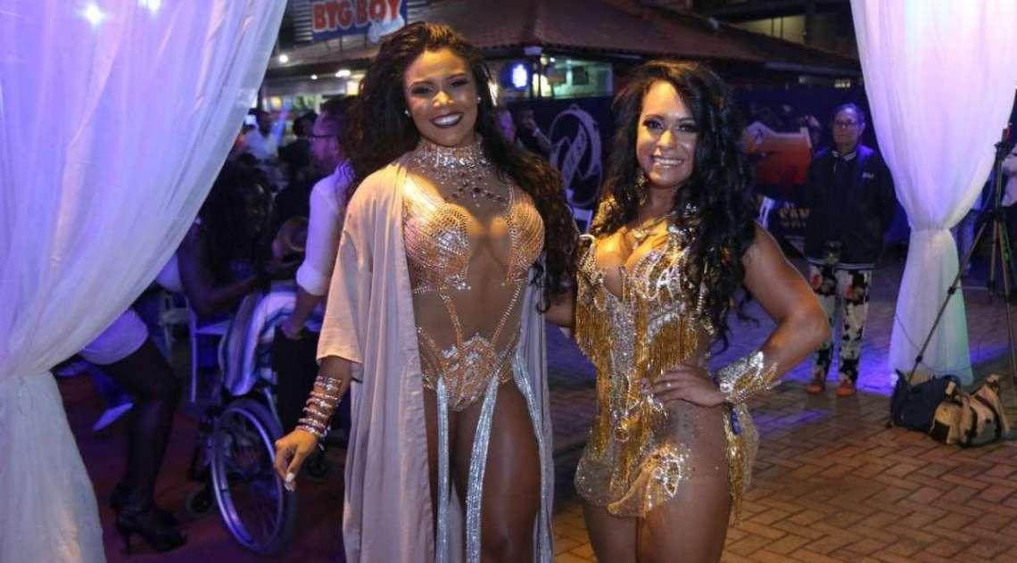 Evelyn Bastos e Raíssa Oliveira