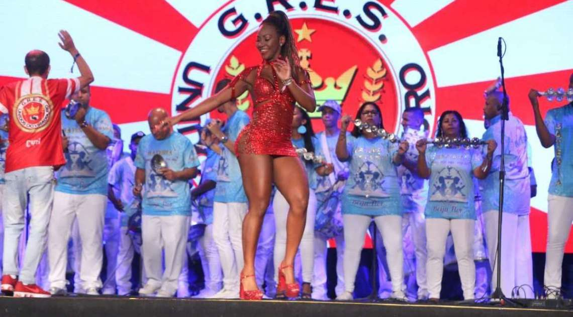 Musas brilham no lançamento do CD das escolas de samba para o Carnaval 2019
