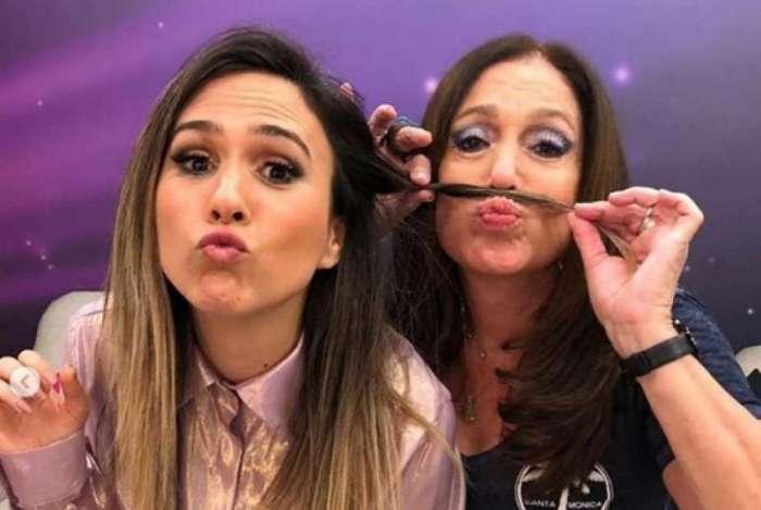 Tatá Werneck e Susana Vieira no 'Lady Night'