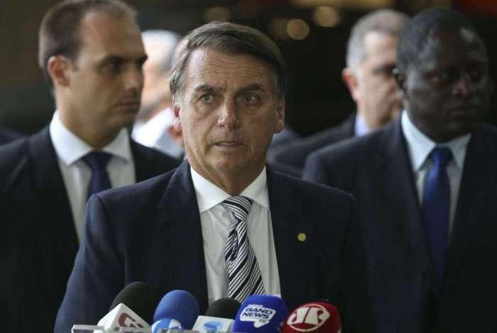 Bolsonaro: jogando junto com MDB