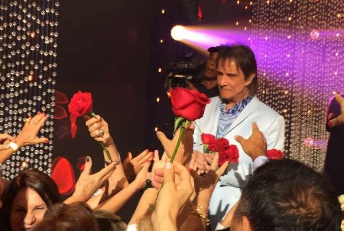 Roberto Carlos grava especial na Globo