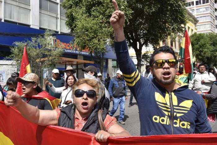 Protestos contra nova candidatura de Evo Morales na Bolívia