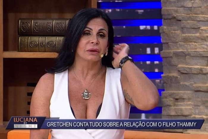 Gretchen conta que Thammy e Andressa Ferreira farão inseminação artificial