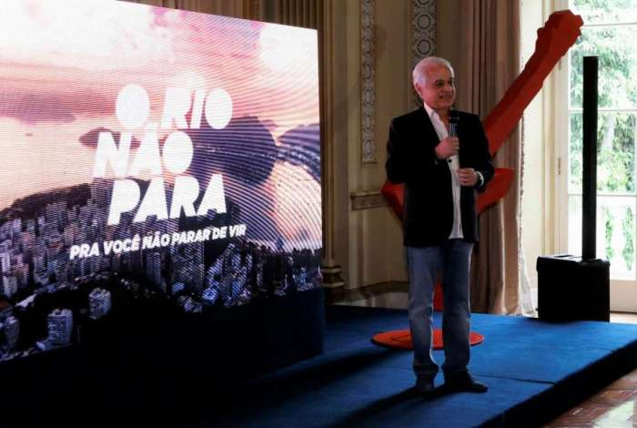 Roberto Medina, presidente do 'Rock in Rio'