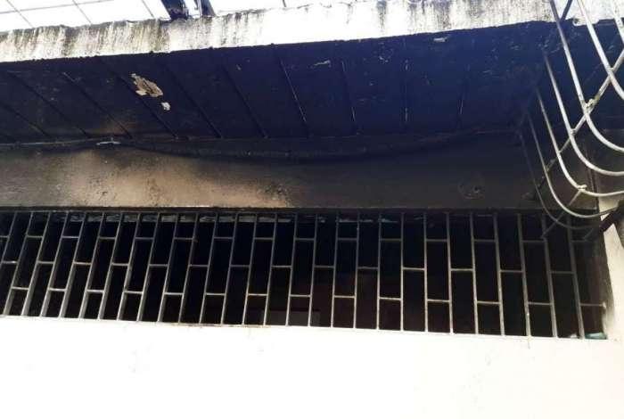 O incêndio aconteceu em represália a uma tentativa frustrada de fuga da unidade
