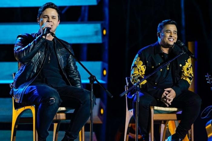 Matheus e Kauan gravaram DVD, 'Tem Moda Pra Tudo', no interior de Goiânia