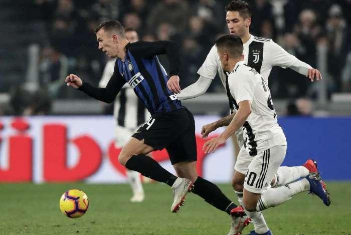 Juventus bateu a Inter de Milão