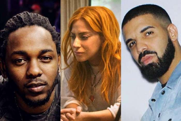 Kendrick Lamar, Lady Gaga e Drake