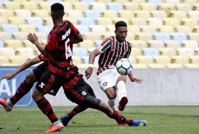 Fluminense e Flamengo ficaram no 1 a 1 no primeiro jogo da final