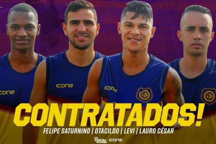 Madureira ganha quatro reforços para o Carioca 2019