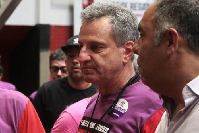 Rodolfo Landim, novo presidente do Flamengo, está em busca de reforços