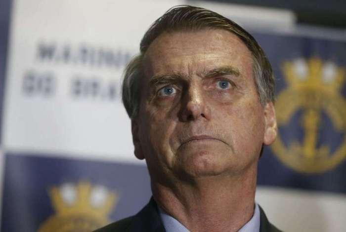O presidente eleito Jair Bolsonaro (PSL)