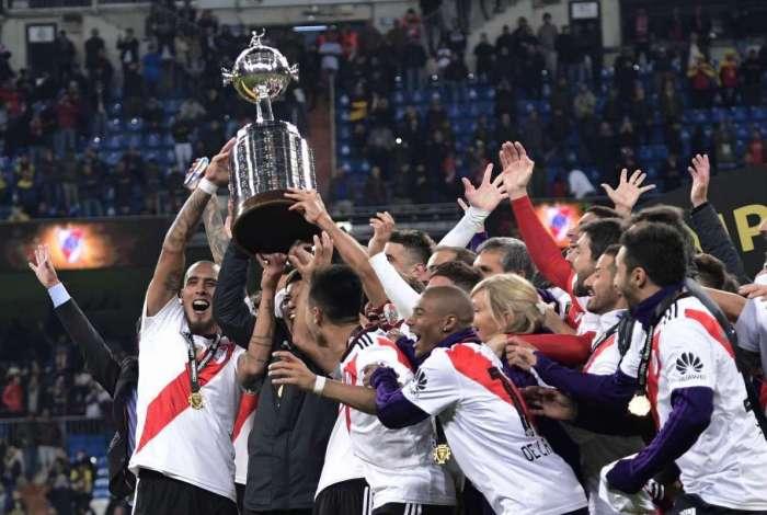 River conquistou a Libertadores em 2018