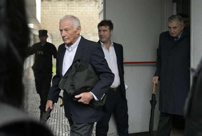 Pedro Muller e Hector Sibilla foram sentenciados por cumplicidade à ditadura pelo tribunal argentino
