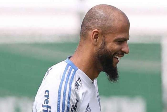 O jogador Felipe Melo