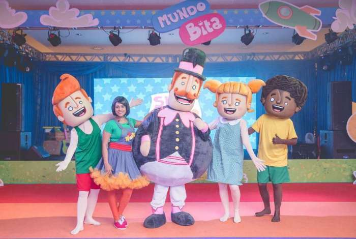 O show de Bita terá especial de Natal no próximo fim de semana