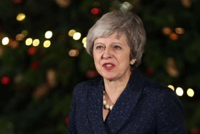 Primeira ministra britânica, Theresa May